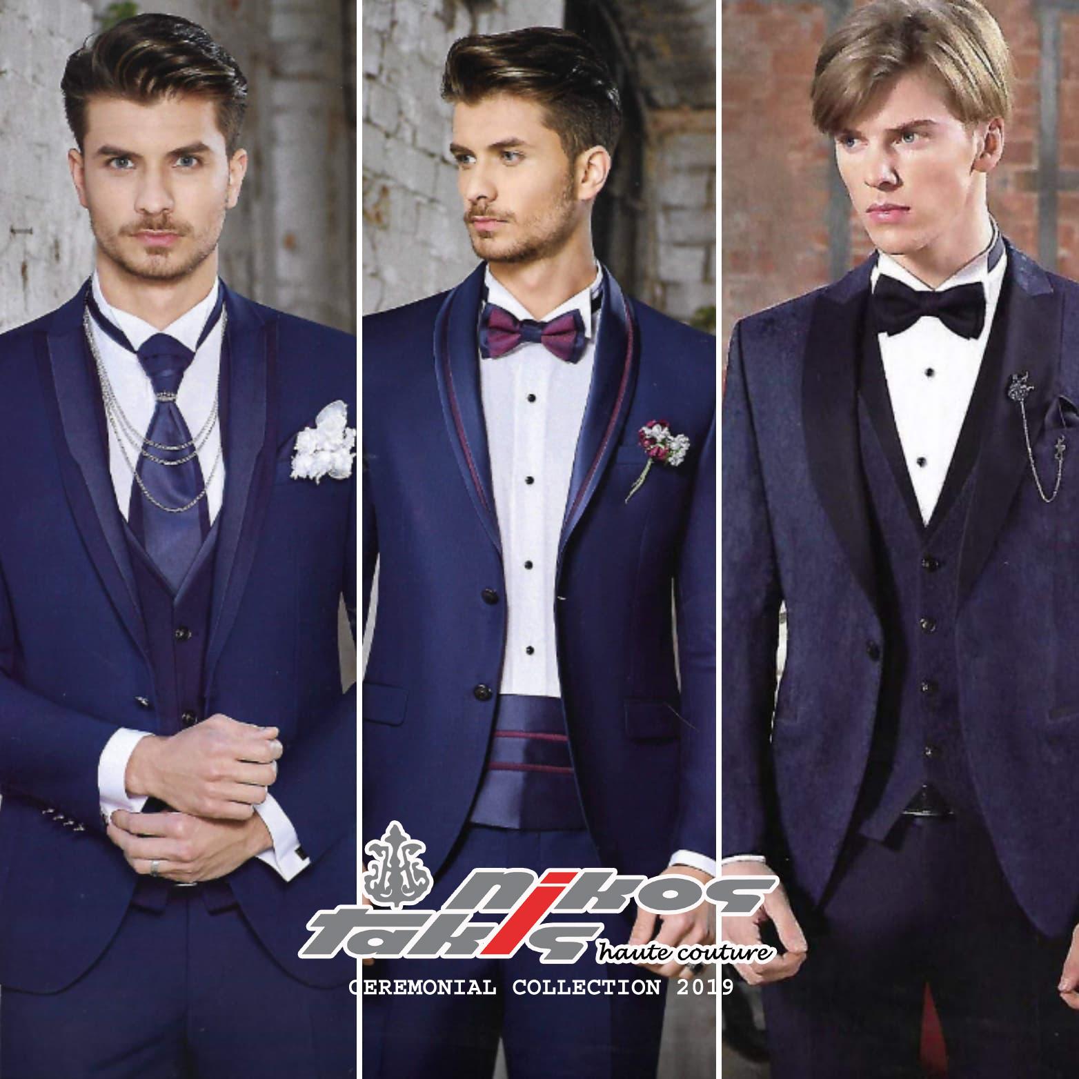 triplet suits 2019 in blue LOGO